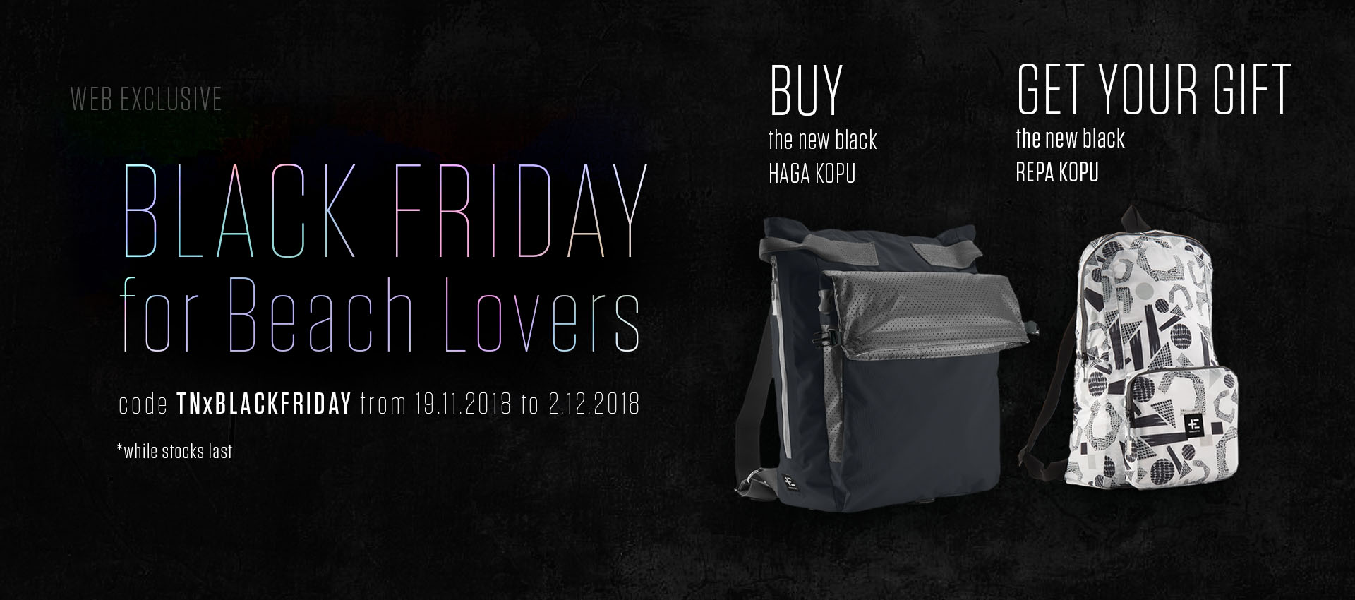 Black Friday promotion Bags Terra Nation
