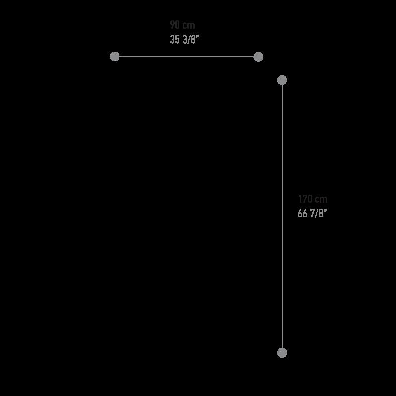 Kuki Moe dimensions