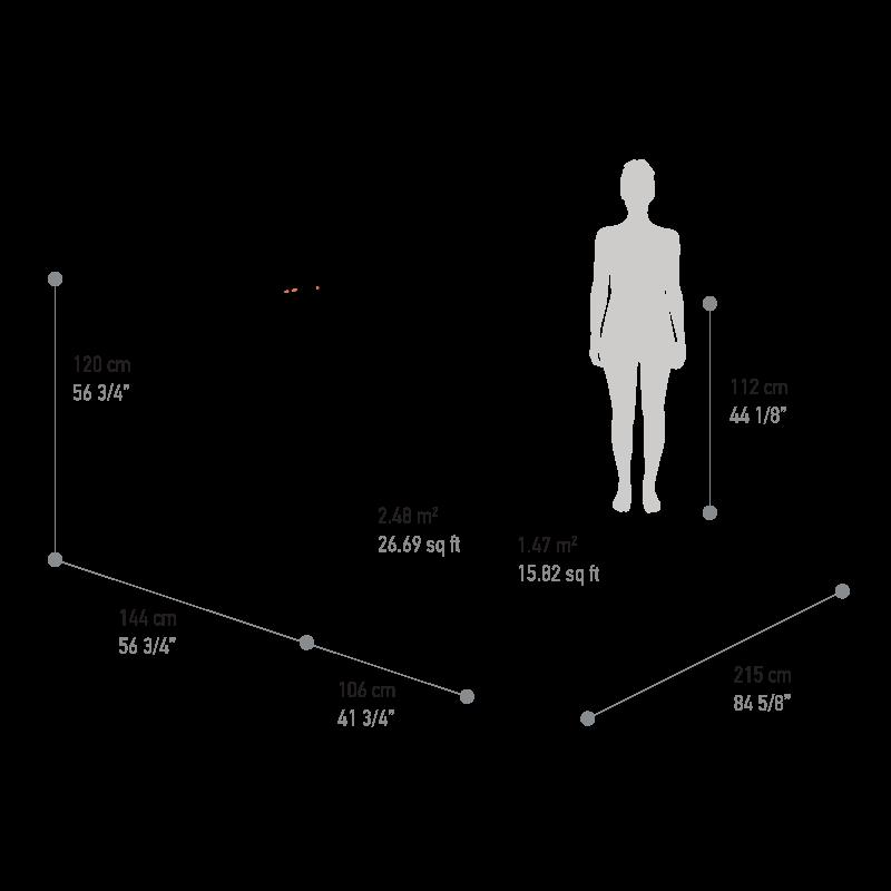 Reka Kohu Ultra dimensions